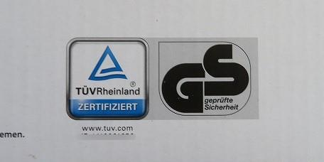 HUDORAキックスケーターはドイツ安全性確認済GSマークを取得している