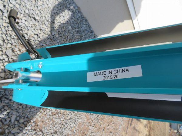 フドラキックスケーターはドイツ製ですがメイドインチャイナでした