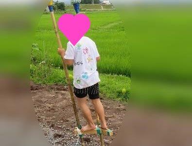 竹馬に子どもが2日間で乗れるようになる方法