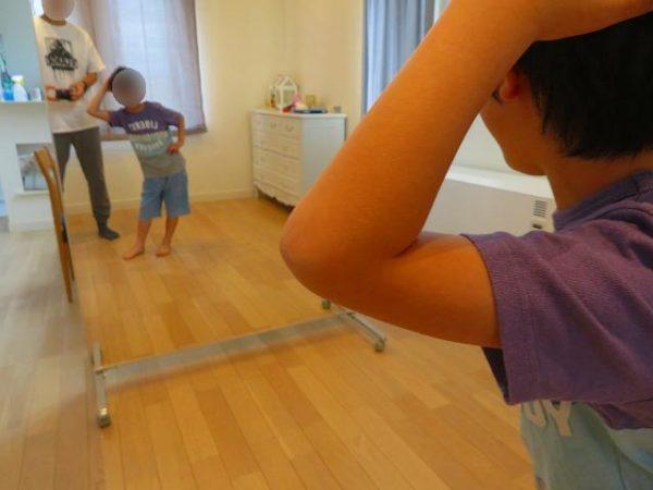 ダンスミラーを買って自宅でダンスレッスン