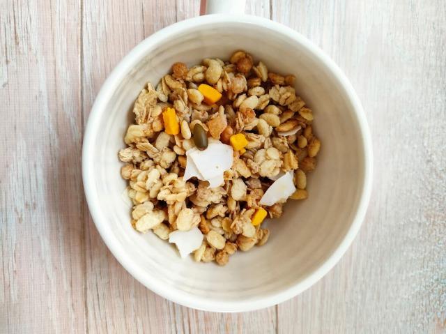 フルグラトロピカルココナッツの具材