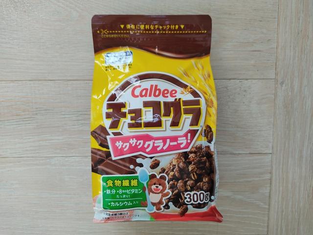 チョコグラのパッケージ