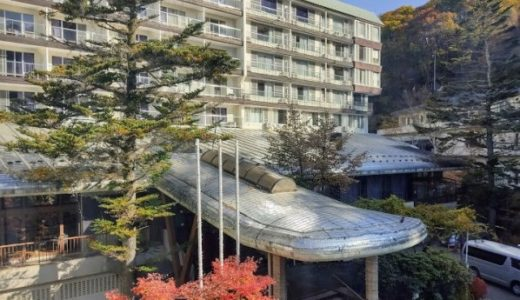 蓼科グランドホテル滝の湯に宿泊【お部屋やバイキング料理を写真で紹介】