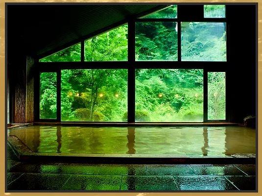横谷温泉旅館 大浴場の内湯