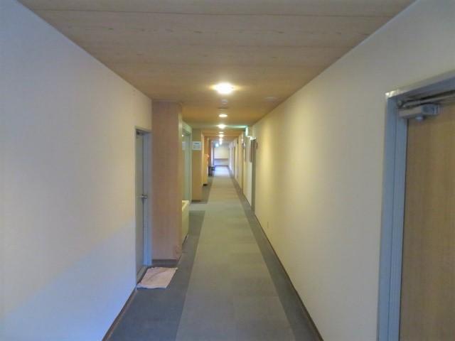 横谷温泉旅館の廊下