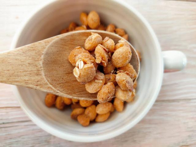 1日分の食物繊維は大粒のシリアル