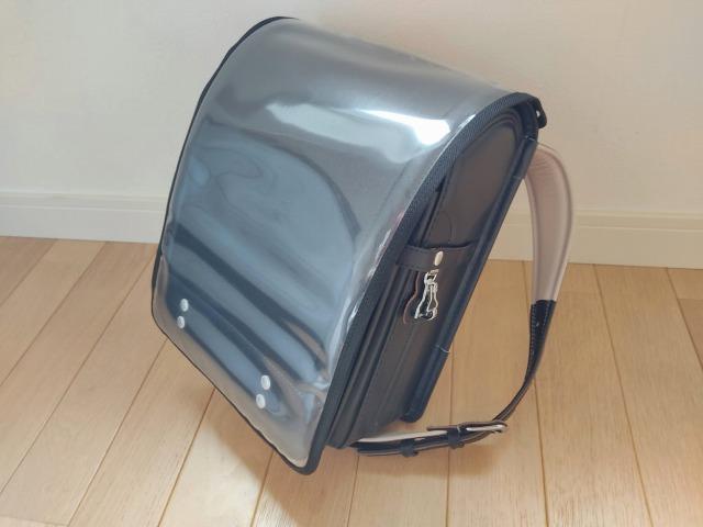 土屋鞄のランドセルカバーにはまもるちゃんのLサイズがピッタリ