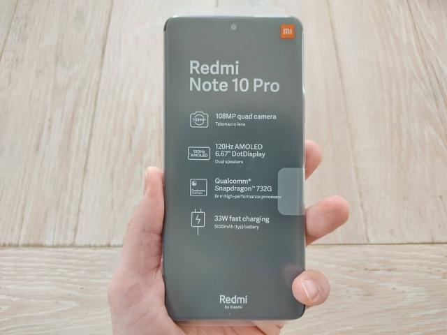 Redmi note 10 pro本体の大きさ