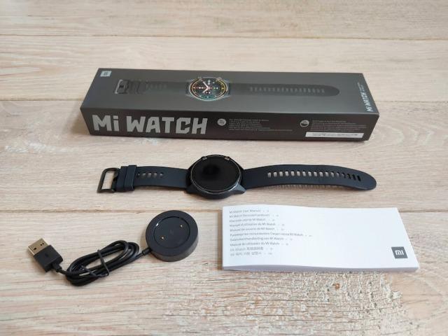 Mi watchの付属品
