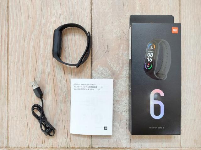 日本版mi smart band6の付属品