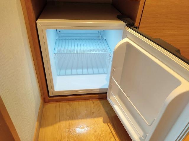 池の平ホテルの部屋の冷蔵庫